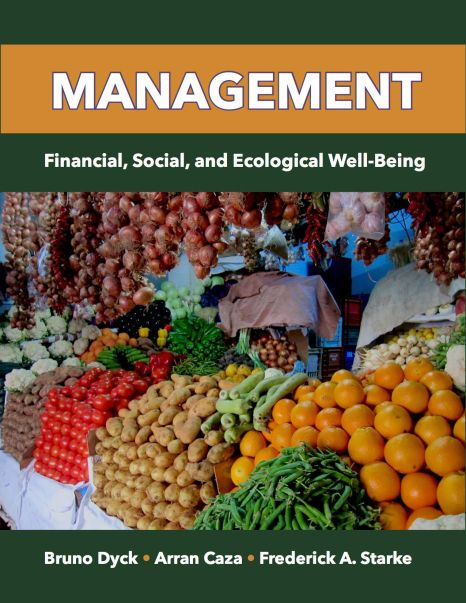 Management: Financial, Social, and Ecological Well-Being